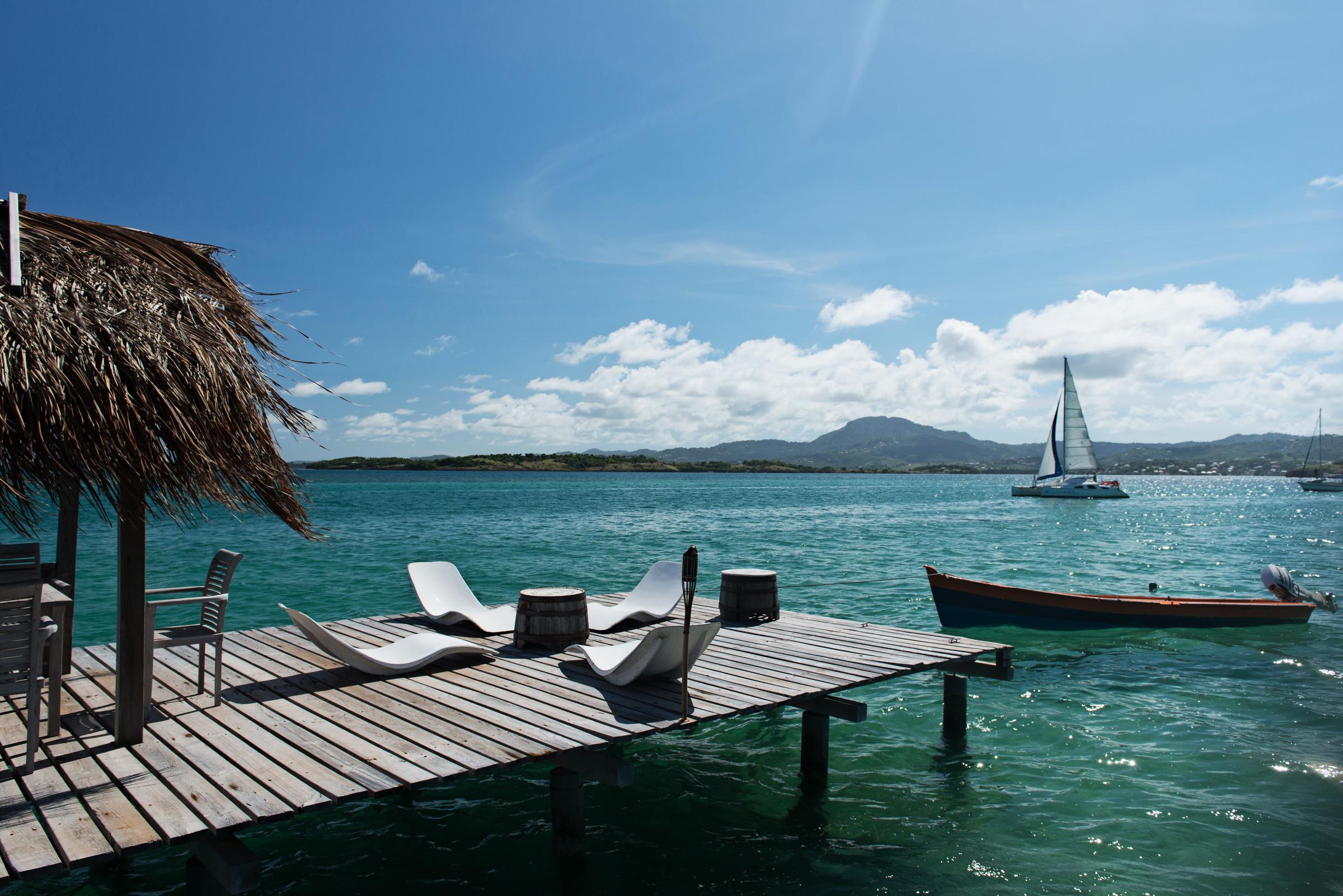 ilet oscar Martinique