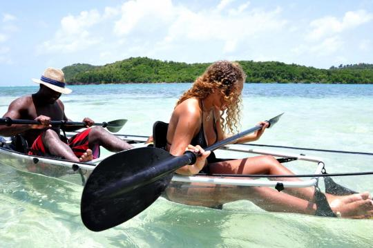 excursion kayak martinique fleurdo